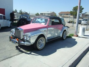 Class Car restoration for Liberace
