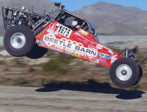 Beetle Barn dune buggy takes a leap